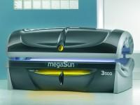 Solárium MegaSun 3500 šedá