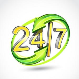 Servisná podpora 24 hod denne