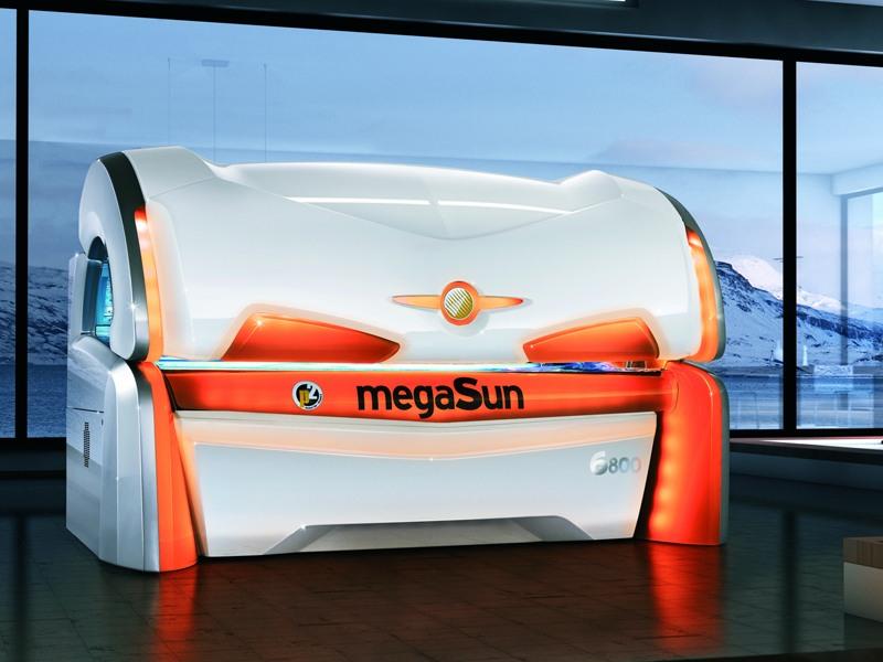 Solárium MegaSun 6800