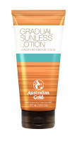 Australian Gold Gradual Built Sunless Lotion 177 ml