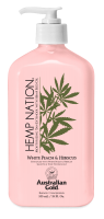 Australian Gold Hemp Nation White Peach Hibiscus Body Lotion 535 ml
