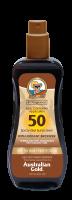 Australian Gold SPF 50 spray GEL s BRONZEREM 237 ml