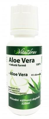 Aloe Vera 225 ml (45 dávek) - VÝPRODEJ