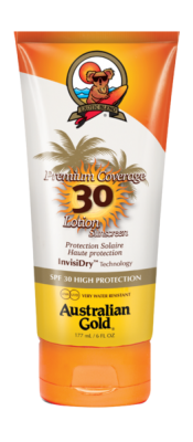 Australian Gold Premium Coverage SPF 30 Lotion 177 ml - VÝPRODEJ