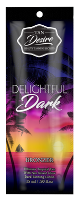 Tan Desire Delightful Dark 15 ml - VÝPRODEJ