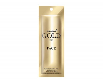 Tannymaxx Gold 999,9 Sensitive Anti Age Face Tanning Lotion 7 ml - VÝPRODEJ