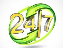 Servisní podpora 24 hod. denně