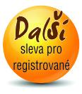 Další sleva pro registrované zákazníky