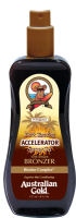 Australian Gold Dark Tanning Accelerator Spray Gel with bronzer 237 ml - SUPER AKCE