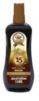 Australian Gold SPF 15 spray GEL s BRONZEREM 237 ml - AKČNÍ NABÍDKA