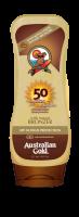 Australian Gold SPF 50 Lotion + bronzer 237 ml