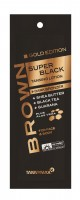 Tannymaxx Brown Super Black Gold Edition Tanning Lotion + Dark Bronzer 15 ml