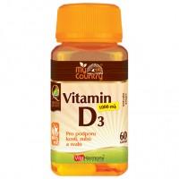 Vitamin D3 1.000 m.j. (25 mcg) - 60 cps
