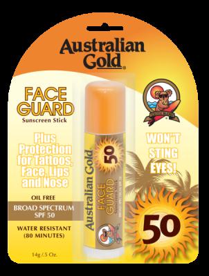 Australian Gold Face Guard Stick SPF 50 14g - VÝPRODEJ