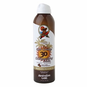 Australian Gold Premium Coverage SPF 30 Continuous Spray BRONZER 177 ml