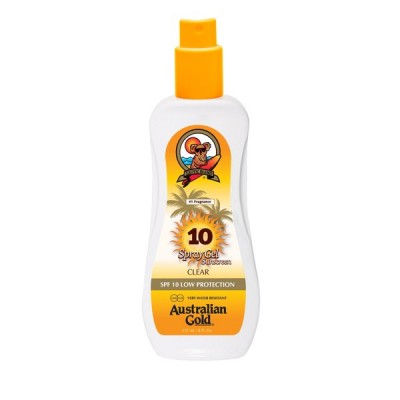 Australian Gold SPF 10 spray GEL 237 ml - VÝPRODEJ