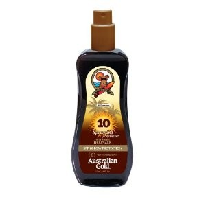 Australian Gold SPF 10 spray GEL s BRONZEREM 237 ml