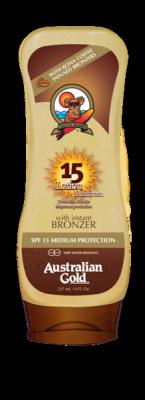 Australian Gold SPF 15 Lotion + bronzer 237 ml