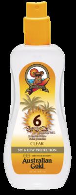 Australian Gold SPF 6 spray GEL 237 ml - VÝPRODEJ